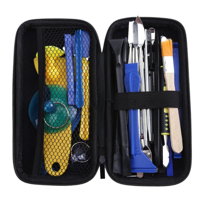 37 En 1 Apertura desmontaje Kit de herramientas de reparación para teléfono inteligente portátil Tablet reloj reparación Kit herramientas de mano