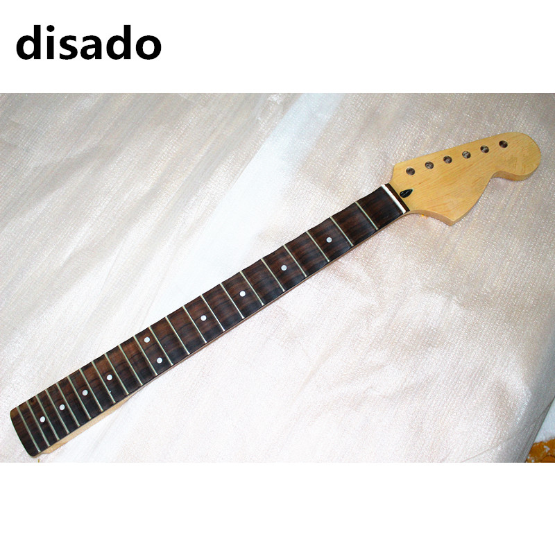 disado 21 22 24 Frets big headstock maple Electric Guitar Neck rosewood scallop fretboard glossy paint guitar accessories new pro automatic titanium hair curler hair roller hair styler tools curling iron dual voltage for women hair curling