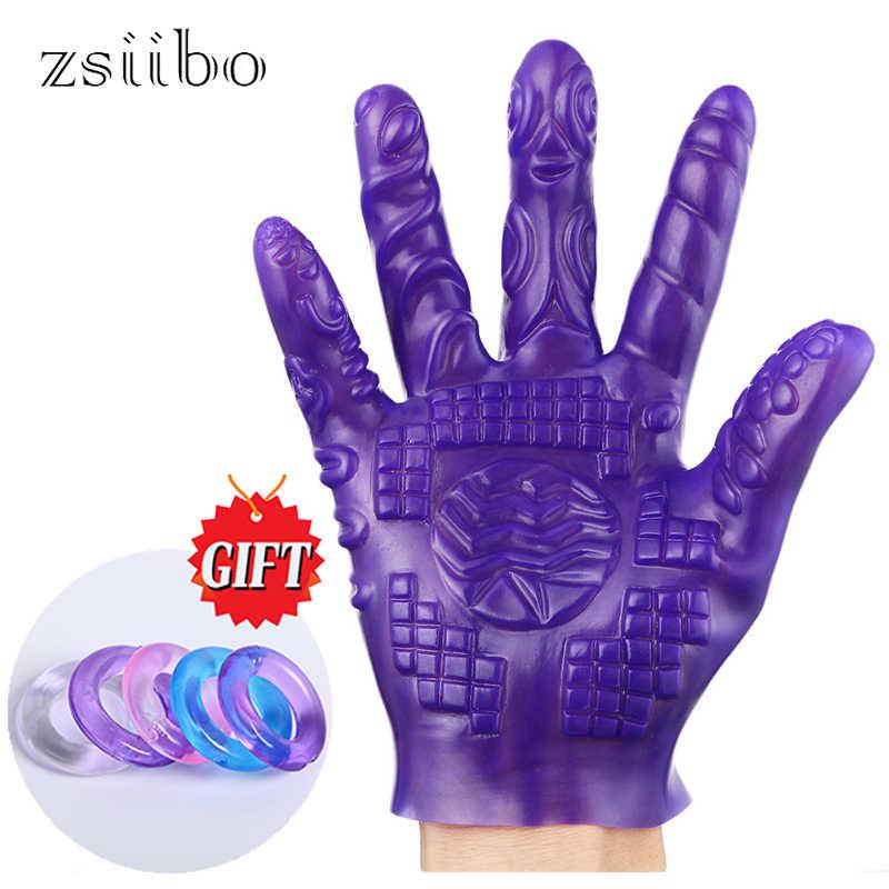 Вагина с перчатки — 11