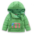 New baby Jackets Winter Warm Cotton Coat Padded Boys Fur Collar Baby Down Toddler Clothing Outerwear Infant Overcoat Girls Parka