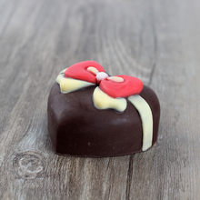 Heart Shaped Bow Silicone Soap Mold Handmade Chocolate Candy Mould