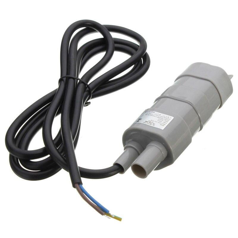 купить DC 12V 5M Pumping Head Mini Submersible Motor Brush Water Pump for Garden Fountain Aquarium онлайн