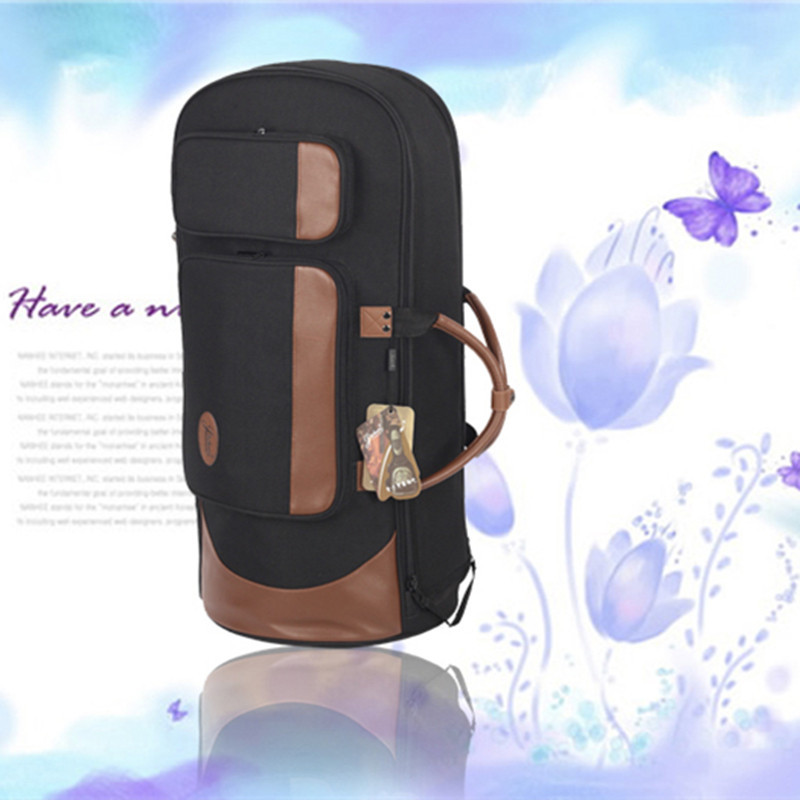 New Professional Portable standing key bond tenor horn bag euphonium case four flat key horn soft gig backpack cover waterproof portable hawaii guitar gig bag ukulele case cover for 21inch 23inch 26inch waterproof