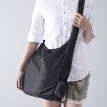Foldable Pouch Grocery Shoulder Bag Shopping Bags Travel Folding Reusable