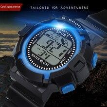 цена на Sports LED Watch Digital Display Date Casual Unisex Males Quartz Watch Electronics Men Clock Wristwatch Relogio Masculino