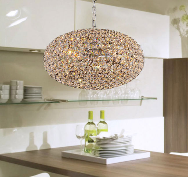 led chandelier lamp e14 modern sconce k9 crystal foyer lamps shade home decor luminaire md3754b dining room light lampshade rgbin pendant lights from