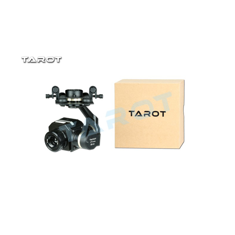 цены Tarot 3 Axis CNC Gimbal Metal Efficient FLIR Thermal Imaging Gimbal Camera for Flir VUE PRO 320 640PRO Multicopter TL03FLIR