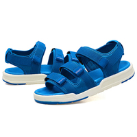 KEYI TODO 2019 Summer Beach Boy Sandals Kids PU Fashion Sport Sandal Children Sandals For Boys Leather Casual Shoes 1121