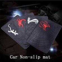 Estilo do carro acessórios interior do carro painel de instrumentos painel do PVC anti-skid pad carteira móvel perfume Animal Não-slip mat