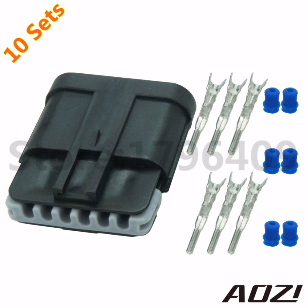 online buy whole 6 pin harness from 6 pin harness 10sets 1 5mm series auto male plastic wire harness waterproof 6 pins connectors