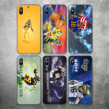 Yinuoda Los Angeles Rams Phone Case NFL Jared Goff For iPhone Shell DIY Picture Soft TPU Cover X XR XS MAX 7 8 7plus 6 6S 5S SE