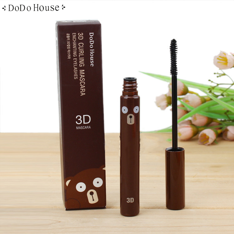 DoDohouse 3D Fiber Mascara Volume and Lengthening Twisting Cosmetics Long Eyelash Extension Curling Thick Eye Make up Beauty цена