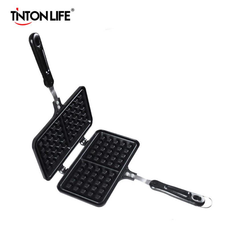 TINTON LIFE Two Grid Muffin Pan Muffin Mold Waffle Pan Maker Baking Tools Nonstick Pan Aluminum Bakeware Baking AccessoriesTINTON LIFE Two Grid Muffin Pan Muffin Mold Waffle Pan Maker Baking Tools Nonstick Pan Aluminum Bakeware Baking Accessories