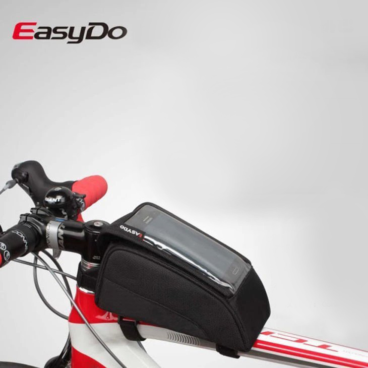 EASYDO bicycle tube bag saddle bag Touch screen mobile phone bales mountain bike car ride my stuff