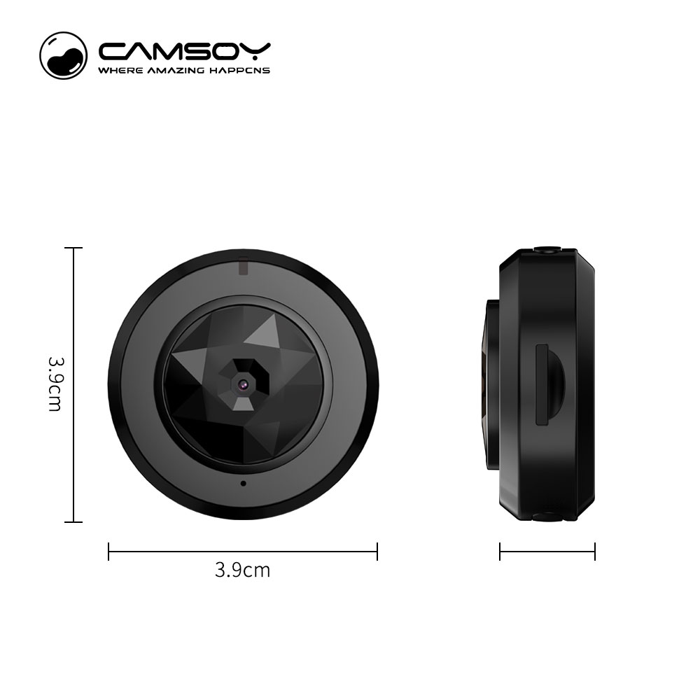 Camsoy C6 Mini Camera for Baby Home Security WIFI IP Control By ...