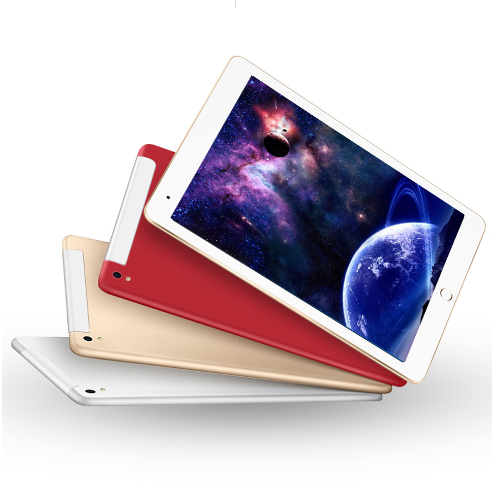 New Design Metal 10.1 Tablet 8 Core 32GB 64GB Android 7.0 Dual Camera Dual SIM 3G Mobile Phone Call Tablet GPS Bluetooth Tablet