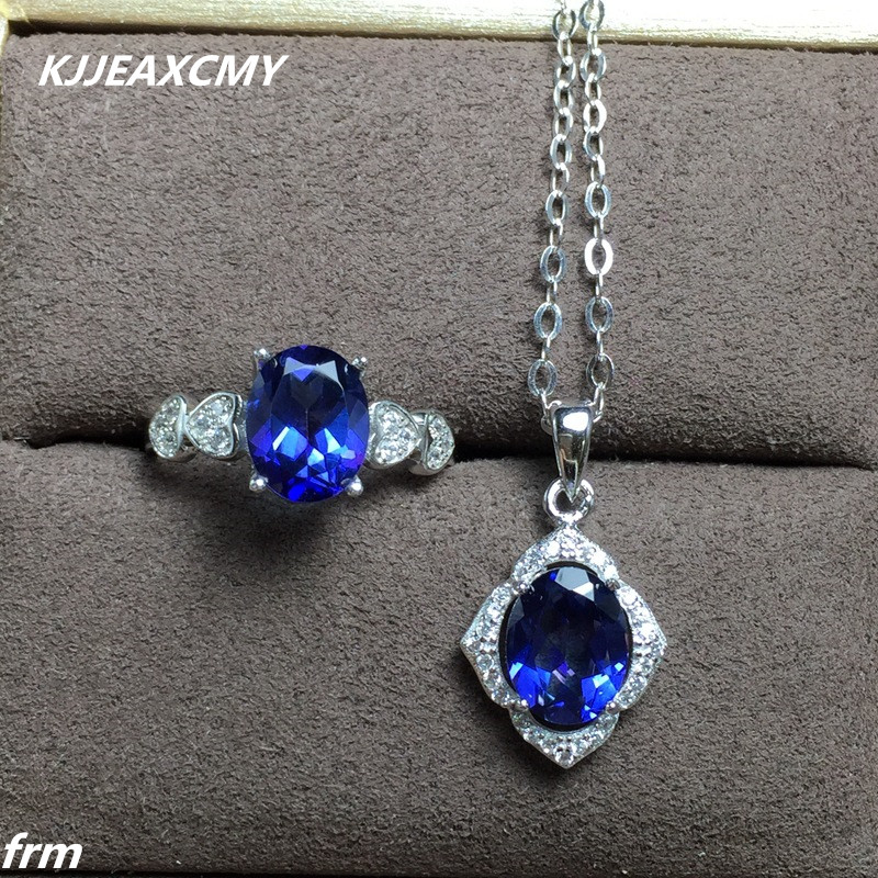 KJJEAXCMY Fine jewelry Tanzanite Topaz womens models new hot wholesale chain live mouth 925 Sterling Silver Choi PoKJJEAXCMY Fine jewelry Tanzanite Topaz womens models new hot wholesale chain live mouth 925 Sterling Silver Choi Po