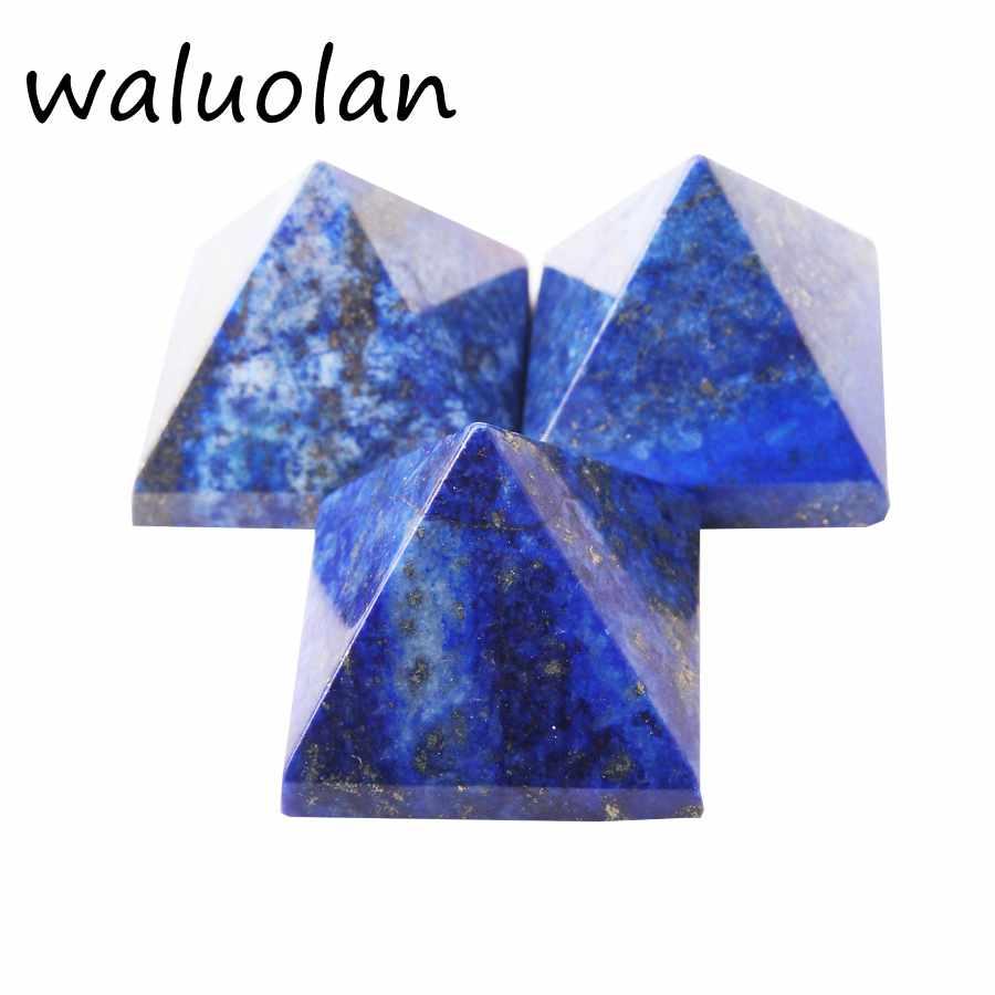 30mm-40mm 100% natural Lapis lazuli stone quartz crystal pyramid healing reiki Chakra Energy Tower Home Ornaments30mm-40mm 100% natural Lapis lazuli stone quartz crystal pyramid healing reiki Chakra Energy Tower Home Ornaments