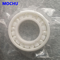 Free Shipping 1PCS 6206 Ceramic Bearing 6206CE 30x62x16 Ceramic Ball Bearing Non Magnetic Insulating High Quality