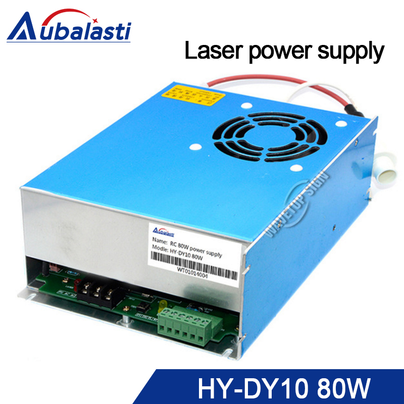 reci co2 laserSwitching power supply 80w DY10 use for reci laser tube W2 90W co2 laser cutting machine reci power supply dy 10 80w 90w z2 w2 co2 laser tube cutting cutter 110v 220v diy part psu laser engraver engraving machine