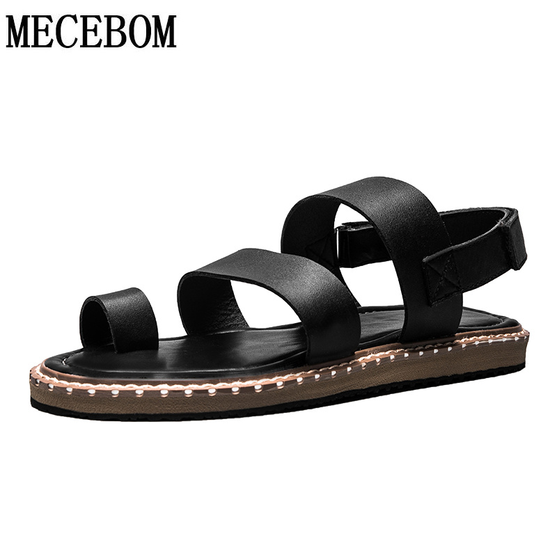 Men sandals 2017 new summer fashion black hook-loop sandals men casual shoes comfortable quality flats zapatos size 38-43 a1189 lowest price new 2016 high quality pu men casual flats shoes fashion men summer chaussure homme shoes for men zapatos hombre