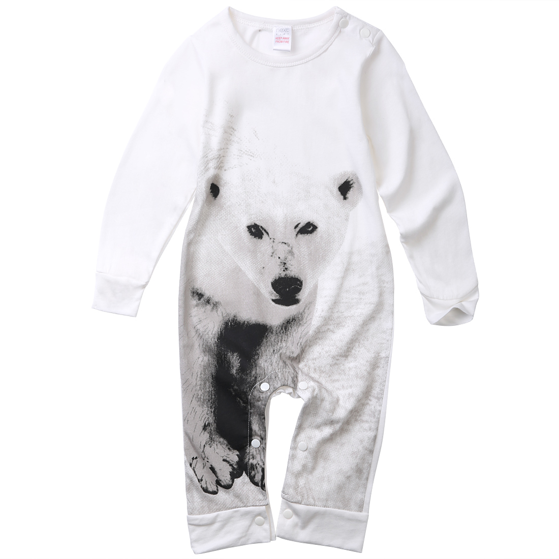 2016 Baby Boys Kids Cotton Clothes Long Sleeve Romper Outfits Jumpsuit Baby Clothes set  ...