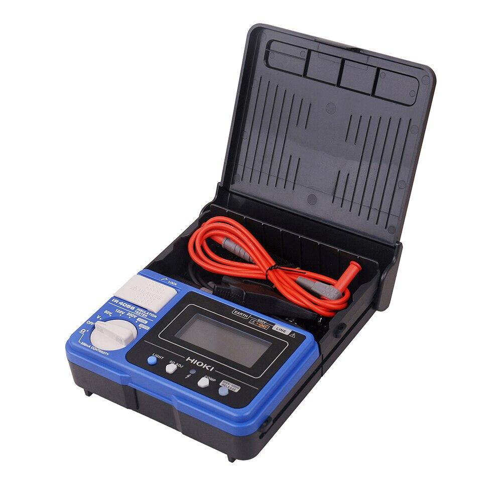 Originale Hioki IR4056-20 Tester di Resistenza di Alta Precisione 5-Gamma di 50 a 1000 v Digitale di Isolamento e di Continuità Tester Elettronico