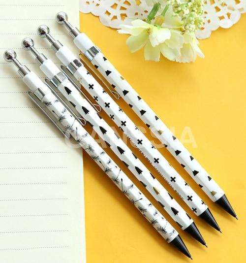 1 шт./лот свежий стиль механический карандаш простой школьные канцелярские карандаши офисные papelaria ZAKKA (ss-1214)