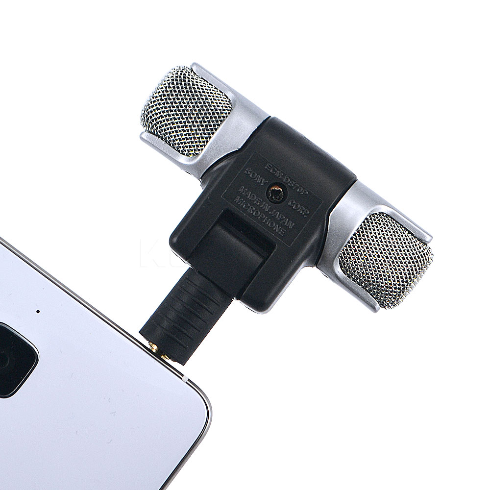 Kebidumei Mini 35mm Microphone Stereo Mic For Recording Mobile Portable With Clip Smartphone Laptop Tablet Pc Phone Studio In Microphones From Consumer Electronics On