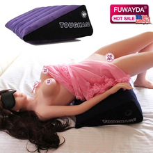 Inflatable Car Seat Supports Pillow For Couples Sofa Cushion Triangle Pad Auto Office Home Rest Spouse Life Joy Mat Four Seasons