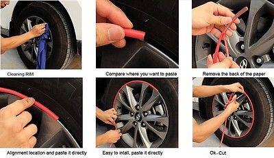 8 metra / zvitek 3M avto pnevmatika za avtomobile, dekorativna - Zunanja dodatna oprema za avtomobile - Fotografija 4
