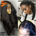 Lace Frontal Wig Brazilian Full Lace Human Hair Wigs For Black Women Body Wave Front Lace Wig Cheap Lace Front Human Hair Wigs