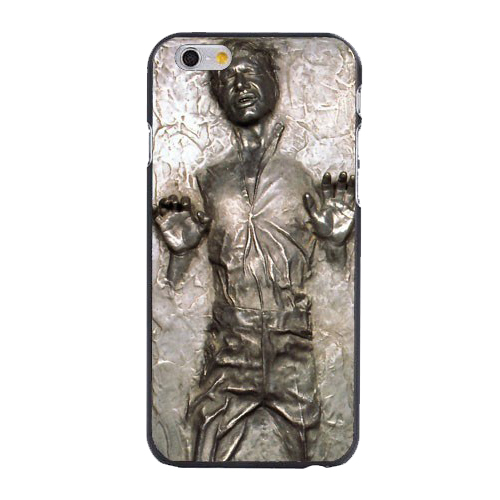 Star Wars Han Solo Frozen in Carbonite Cool Print Hard Cover Case for iphone 4/4s/5/5s/5c/6/6plus/7/7plus