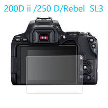 Screen-Protector Camera-Cover Tempered-Glass Mark-Ii 200D Canon for EOS 250d/rebel Sl3/kiss