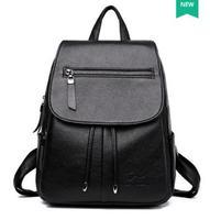 2018 Amaise новое поступление черные женские роскошные designr сумка женская сумка рюкзак двойная сумка EGT0367