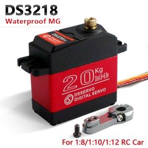 Image 1 - 1X Wasserdichte rc servo DS3218 Update und PRO high speed metal gear digitale servo baja servo 20KG/.09S für 1/8 1/10 Skala RC Autos