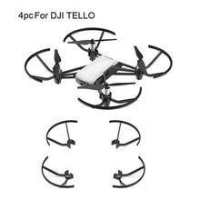 프로펠러 소품 보호 블레이드 예비 부품 보호 링 프로펠러 가드 블레이드 DJI Tello Drone 액세서리 보호