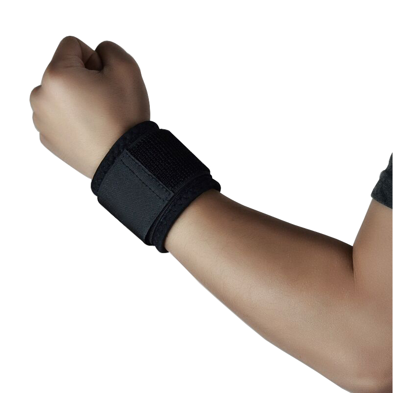Tcare 1pair Adjustable Wrist Brace Compression Wrist Support for Pain Relief & Promotes Healing Breathable Neoprene Wrist Brace