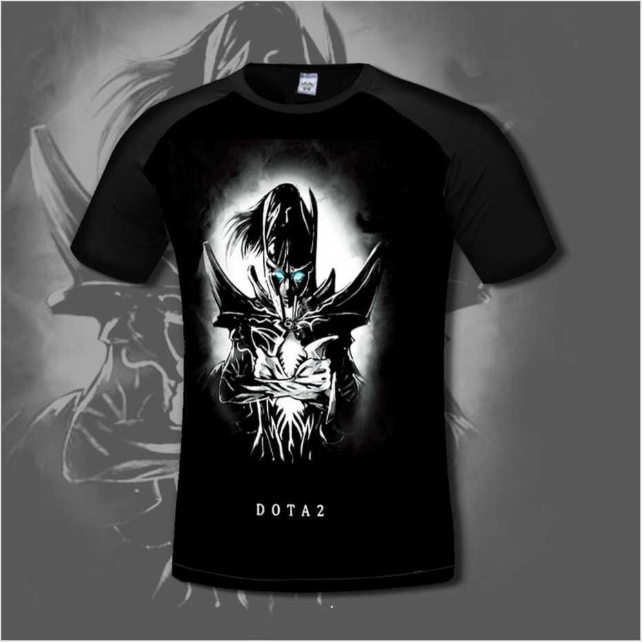 Chinoiserie Dota 2 T-shirt για άνδρες άνετα Dota2 Anime - Ανδρικός ρουχισμός - Φωτογραφία 4
