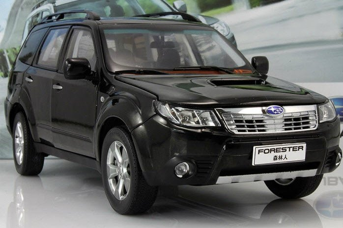 1 18 scale subaru forester diecast model cars toys collection high quality free shipping in. Black Bedroom Furniture Sets. Home Design Ideas