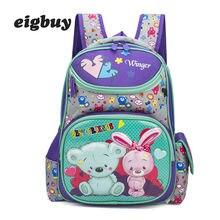 Children Backpack For Boys Girls Cartoon Pattern Preschool Backpacks Orthopedic School Bags Student Satchel Mochila Infantil