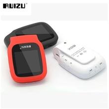 Nuevo 2016 Llegan Original RUIZU X09 Deporte Mini Clip MP3 Music jugador con 4 GB De Almacenamiento y 1.5 Pulgadas Pantalla Ruizu x09 Música jugador