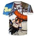 El Niño Travieso Goku y Gatos Imprime camisetas Hombres Mujeres Hipster 3D t shirt tee Classic Anime Dragon Ball Z camisetas Harajuku Tees