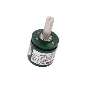 Image 3 - 5pcs/lot Non contact Hall Angle Sensor 0 360 Degree Angular displacement Torque Rotation Angular displacement Sensor L25