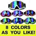 Cadena de envío gratis motocross casco gafas gafas de moto cross dirtbike motocicleta cascos gafas gafas de esquí gafas de patinaje