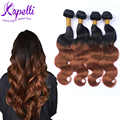 Malaysian Virgin Hair Ombre Wig Human Hair Wigs Malaysian Body Wave ombre hair extensions T1B/30 T4/30 annabelle hair 4 dundles