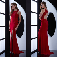 Latest Designs Prom Long fashion Dress 2017 elegant lady lace red gown sexy mermaid dress vestido de festa