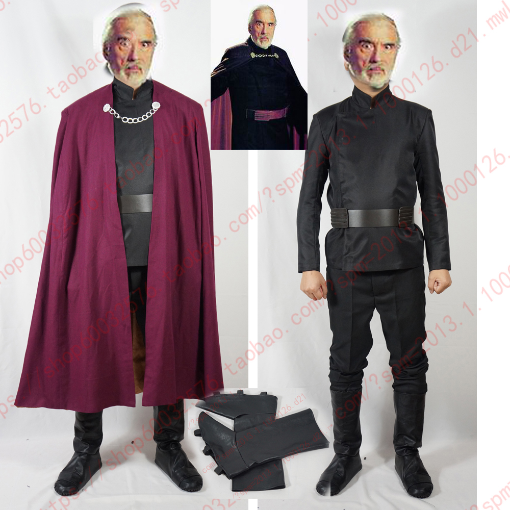 Online Buy Wholesale Count Dooku Costume From China Count
