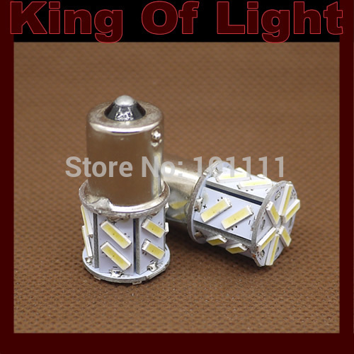 2x car led P21w s25 ba15s 1156 18smd 7014 18 led smd light bulb lamp Free shipping