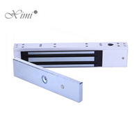 5 Lines 280kg 600lbs EM Lock With Signal Feedback Door Position Feedback Good Quality Magnetic Door Lock For Access Control